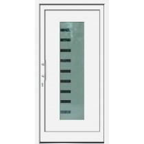 Weiße Basic Plus Kunststoff Haustür Argo 2 Glas Liverpool - Brand