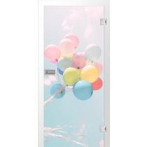 Ballons Fotoprint Glastür - Erkelenz