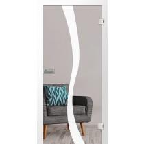 Bergamo Mattprint Glastür mit Motiv matt - Erkelenz