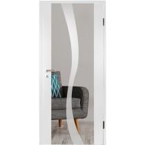 Bergamo Mattprint Holzglastür mit Motiv matt - Erkelenz