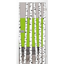 Birch Farbprint Glastür - Erkelenz