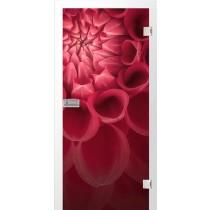 Blume Fotoprint Glastür - Erkelenz