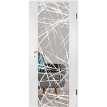 Brush 3 Micromattprint Holzglastür mit Motiv matt - Erkelenz