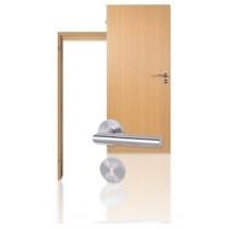 Innentür-Set Buche CPL Tür mit runder Zarge und Drücker