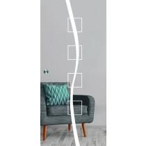 Catania Mattprint Schiebetür Ganzglas mit Motiv matt - Erkelenz
