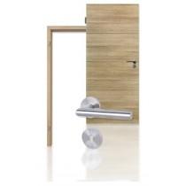 Innentür-Set Cross Lärche gekälkt CPL Tür mit Zarge und Drücker