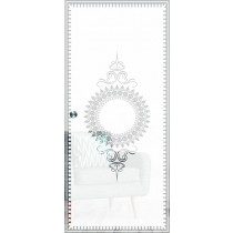 Deco Mattprint Schiebetür Ganzglas mit Motiv klar - Erkelenz