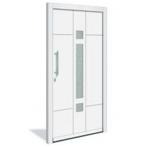 HT 1122 Holz Haustür mit Glasausschnitt - Interio