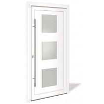 HT 1150 Aluminium Haustür mit Glasausschnitt - Interio