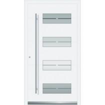 Bild 1 von Finja Aluminium Haustür mit Glasausschnitt - Interio