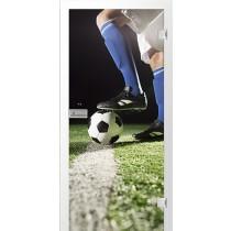Fußball 3 Fotoprint Glastür - Erkelenz