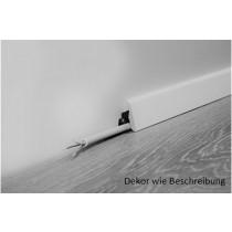 Welsh Dark Eiche Fußleisten Laminatboden (2400 x 18,5 x 38,5 mm) - wineo