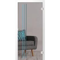 Gilette Farbprint Glastür - Erkelenz
