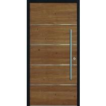 A 17 328 Holz Haustür ohne Glasausschnitt - Kneer