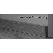 Herbst Eiche Natur Fußleiste Profil K'tex 1 (2400 x 19 x 58 mm) D4951 - Swiss Krono