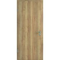 Innentür-Set Eiche Vintage CPL Tür mit runder Zarge und Drücker