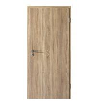 Innentür-Set Sonoma Eiche CPL Tür mit runder Zarge und Drücker