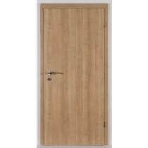 Innentür-Set Kirschbaum Romana CPL Tür mit runder Zarge und Drücker