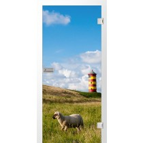 Lighthouse Fotoprint Glastür - Erkelenz