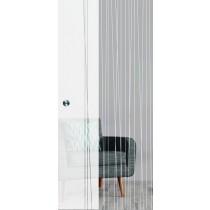 Linie 1 Mattierung Schiebetür Ganzglas mit Motiv klar - Erkelenz