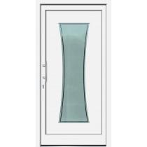 Weiße Basic Plus Kunststoff Haustür Namo 2 Glas Antwerpen - Brand