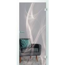 Bild von Nebel Micromattprint Glastür - Erkelenz