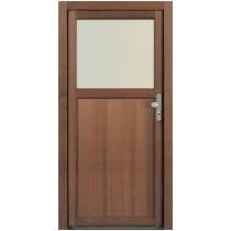 NT A 1 Holz Nebeneingangstür mit Glasausschnitt - Kneer