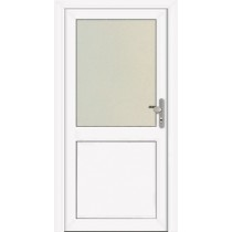 NT A 8 Kunststoff Nebeneingangstür mit Glasausschnitt - Kneer