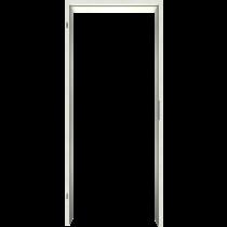 Zarge Uni Weißlack Laminat (CPL) Rundkante VZ-6