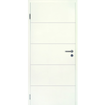Weißlack 9010 Lisenen Optima Innentür - Jeld-Wen