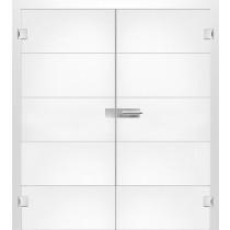Bild von Prime Mattprint Doppelflügeltür mit Motiv klar - Erkelenz