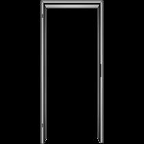 Elegante, profilierte Massivholzzarge (Modell Profil B)