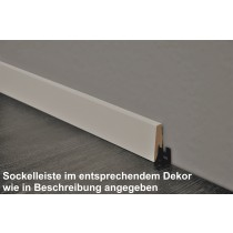 Sockelleiste (Eiche Sandbraun) SKL 60 (2600 x 20 x 60 mm) - ter Hürne Hürne