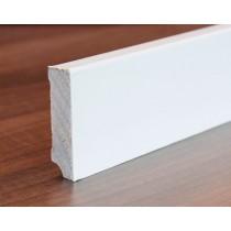 Weiße Sockelleiste (Modell S63) - Interio