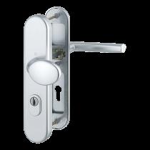 Technische Zeichnung Stockholm Aluminium Schutzbeschlag mit Zylinderabdeckung ES 1 (SK 2) - Hoppe