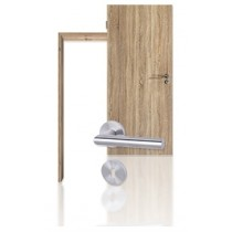 Innentür-Set Sonoma Eiche CPL Tür mit Zarge und Drücker