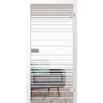 Ufficio Mattierung Glastür mit Motiv matt - Erkelenz