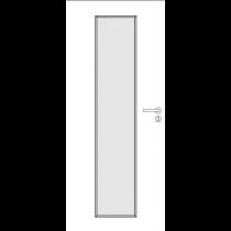 RAL 9016 Verkehrsweiß Innentür mit Glas Vido 1 (modulWERK 3.0) - vitaDoor