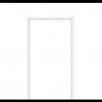 Weißlack RAL 9016 Zarge (modulWERK 1.0) - vitaDoor