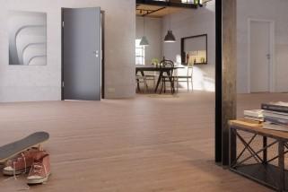 Altholzeiche lehmgrau 1-Stab Landhausdielen Designboden Premium Catega Flex DD 300-6941 - MEISTER