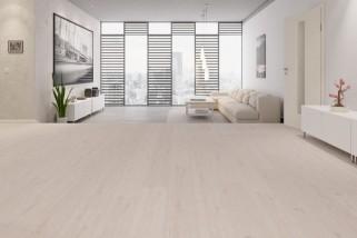 Eiche arcticweiß 1-Stab Landhausdielen Designboden Premium Catega Flex DD 300-6946 - MEISTER