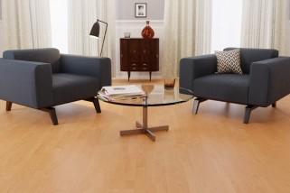 Bodenkomplettset Buche Schiffsboden Premium Laminat - Interio