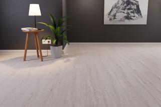Bodenkomplettset Eiche Berg Landhausdiele Premium Laminat - Interio