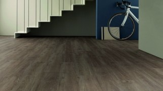 Eiche Canberra Graubraun I06 Landhausdielen Pro Vinylboden Straight Edition - ter Hürne