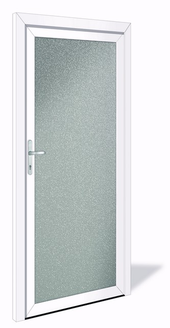 net 1042 aluminium nebeneingangst r mit glasausschnitt interio deinet. Black Bedroom Furniture Sets. Home Design Ideas