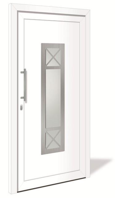 3 sterne ht 1098 kunststoff haust r mit glasausschnitt interio deinet. Black Bedroom Furniture Sets. Home Design Ideas