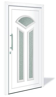 ht 1154 aluminium haust r mit glasausschnitt interio deinet. Black Bedroom Furniture Sets. Home Design Ideas