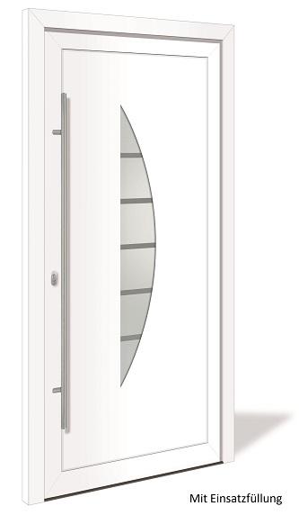 ht 1174 aluminium haust r mit glasausschnitt interio deinet. Black Bedroom Furniture Sets. Home Design Ideas