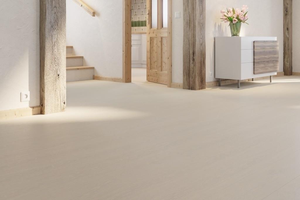 Berühmt Eiche lebhaft weiß gekälkt 1-Stab Landhausdielen Longlife-Parkett VM12