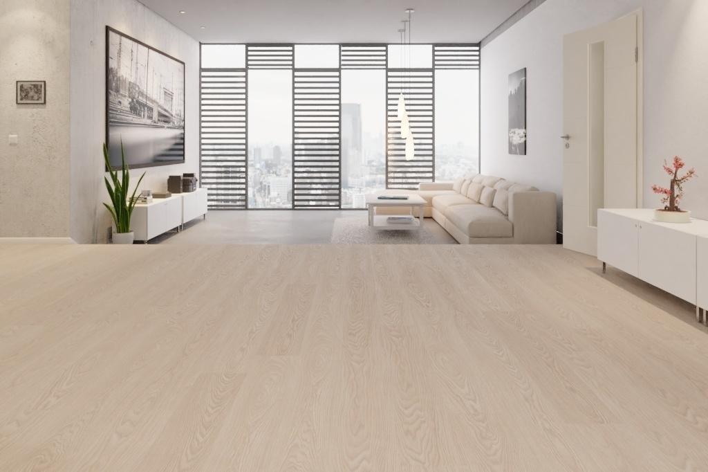 Fußboden Wärmedämmung Laminat ~ Bodenkomplettset eiche meran landhausdiele premium laminat